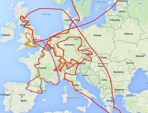 Around Europe in 90 days